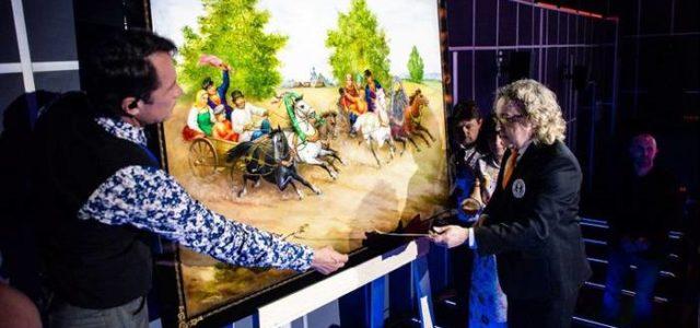 Федоскино вошло в Книгу рекордов Гиннесса за самое большое панно из папье-маше