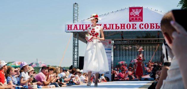 В Ивановской области завершился юбилейный фестиваль моды «Плес на Волге. Льняная палитра»